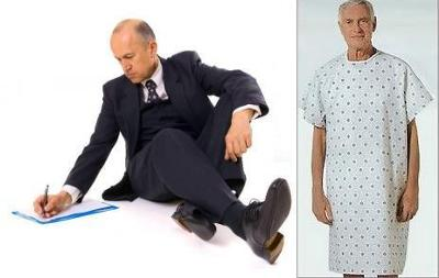From Well Dressed Surgeon to Patient